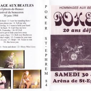 Poker Hommage aux Beatles St-Ephrem de Beauce